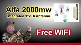 alfa networks ubdo long range antenna usb wireless long range network wifi adapter