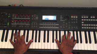 Imela (Nathaniel Bassey) - Piano cover