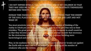 NEW MESSAGE 24/03/2018 FROM OUR LORD JESUS CHRIST TO LUZ DE MARIA