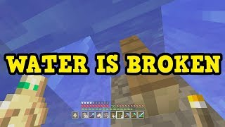 Minecraft Xbox / PE - Why Water Building NEEDS To Be Fixed
