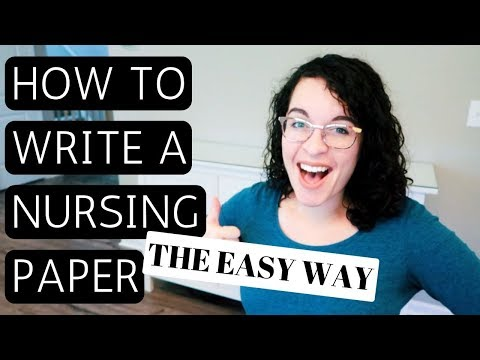 HOW TO WRITE A PAPER IN NURSING Or NP SCHOOL