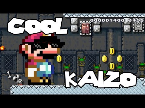 Mario Maker - So Many Dead Marios (Awesome Kaizos) | Cool Levels #4
