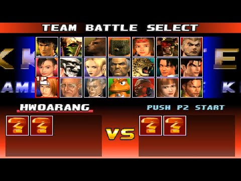 Tekken 3 Opening And All Characters Ps1 Youtube
