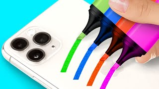 Colorful And Easy Phone Case Crafts And DIY Decor Ideas To Upgrade Your Device