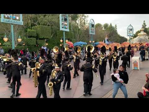 San Pedro High School Disneyland Jan 2020