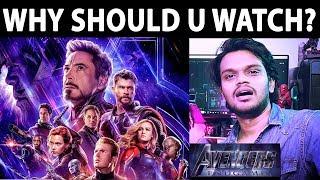 7 REASONS To watch ENDGAME | Avengers | Arunodhayan
