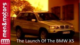 The Launch Of The BMW X5 (1999)