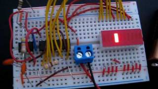 Knight Rider circuit with LED Bar Array