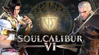 SOUL CALIBUR 6 - Eu Joguei! Maxi vs Geralt em Kaer Morhen! (E3 2018 PC Gameplay)