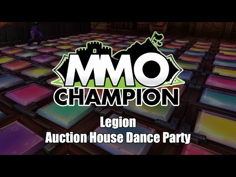 Auction House Dance Party - Patch 7.2.5