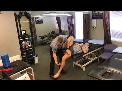 Testing hip flexor length