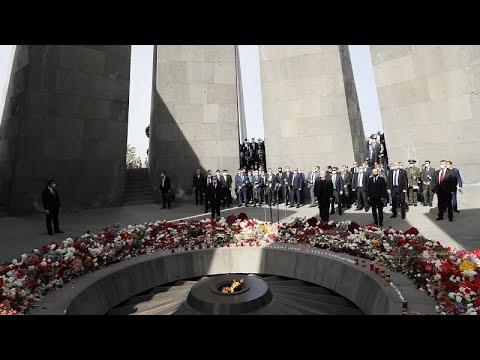 Армения: День памяти жертв геноцида