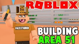 BUILDING AREA 51 IN ROBLOX :D