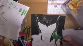Drawing Time Laspe - Avengers Assemble! (Part One - Loki)