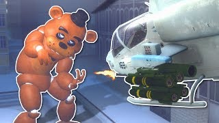 �������� ���� GIANT FREDDY BATTLE IN CITY! - Garry's Mod Gameplay - Gmod FNAF Battle ������
