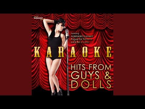 I'll Know (In the Style of Guys & Dolls) (Karaoke Version)