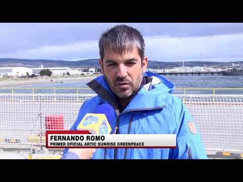 """Barco """"Arctic Sunrise"""" de Greenpeace zarpará desde Punta Arenas hacia la Antártica - ITV Noticias"""