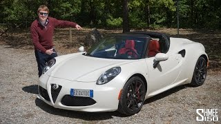 Test Drive with the Alfa Romeo 4C Spider