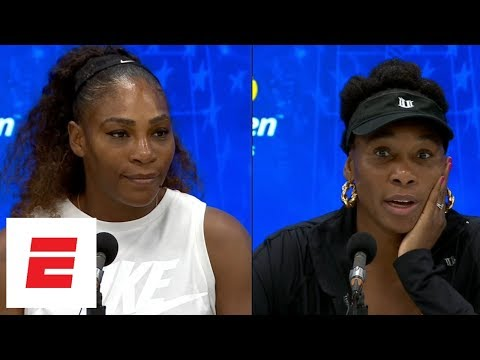 2018 US Open: Serena, Venus Williams press conferences after sisters' 30th matchup as pros | ESPN