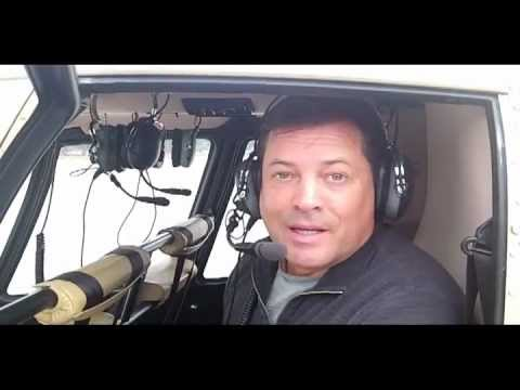 Jeff Rector gets high on the Reno -Tahoe Helicopter Tour