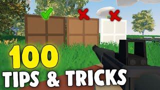 100 Useful Unturned Tİps & Tricks