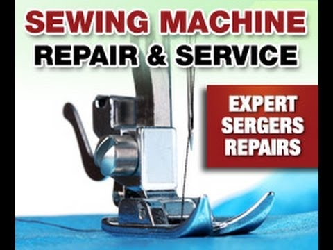 How To Repair Sewing Machine At Home Step By Step YouTube Best Fix Sewing Machine Repairs