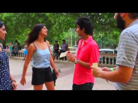 First ever kissing prank in India