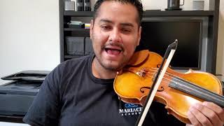 Violin Exercise 1