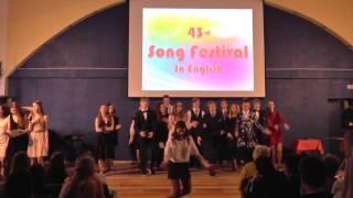 Фестиваль Песен На Английском Языке Шоу 9Б Класса 2017