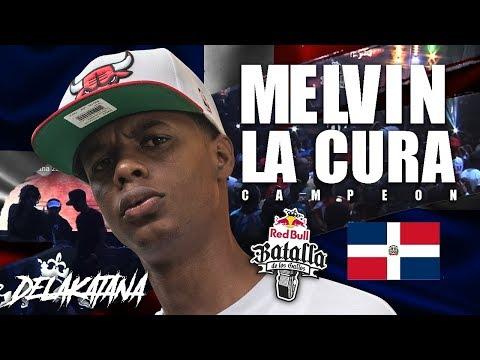MELVIN LA CURA Interview / CAMPEON NACIONAL REDBULL BATALLA DE LOS GALLOS REP.DOM
