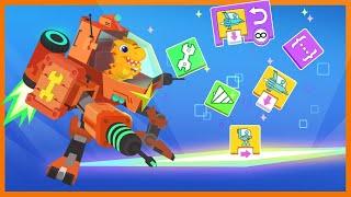 Dinosaur Coding⌨️Ep2 Sequence - Learn to code the mecha | Kids Learning | Kids Games | Yateland screenshot 3