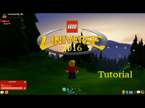 Play Lego Universe In 2017!! (Luniserver). Tutorial