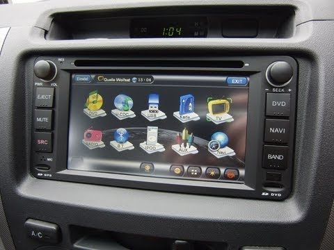 gps navigation navi md231s toyota corolla rav4 prado vios hilux avanza youtube. Black Bedroom Furniture Sets. Home Design Ideas