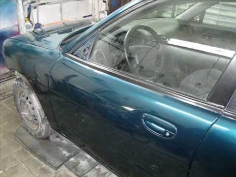 Ремонт авто после переворота