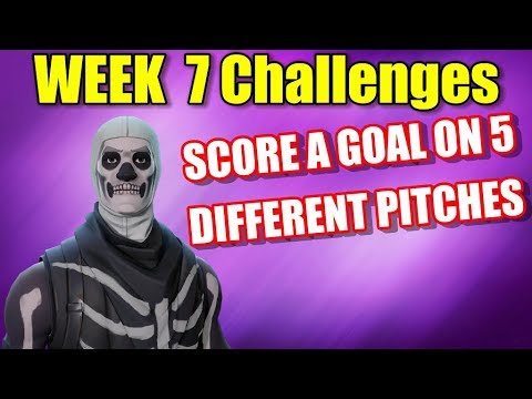 Score A Goal On 5 Different Pitches (Week 7 Challenge)