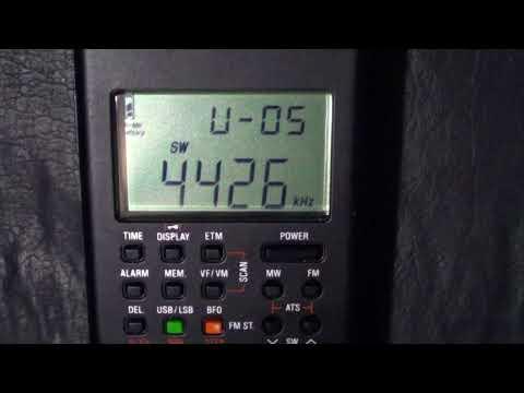 NMN Chesapeake Virginia USCG 4426 Khz USB Shortwave CoutyComm GP5 SSB