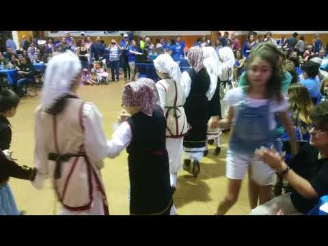 Katie and friends Greek Dance St Johns festival Tampa 2017 ela pareme