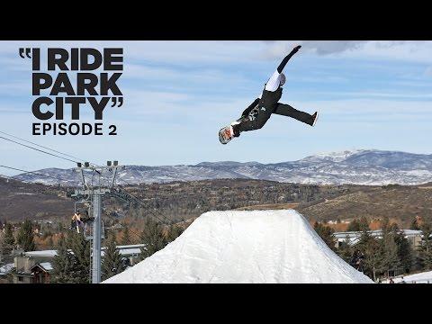 c01c68cc2147 I Ride Park City snowboarding park edit with Chris Beresford
