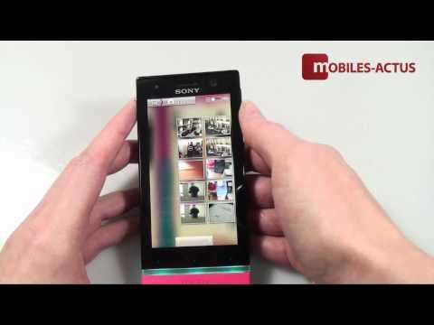 Sony Xperia U - Test, démonstration, prise en main