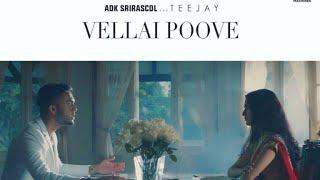 Vellai Poove - TeeJay & ADKSRIRASCOL - Official Music Video 4K