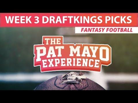 2017 Fantasy Football - Week 3 DraftKings Picks, Sleepers & Preview