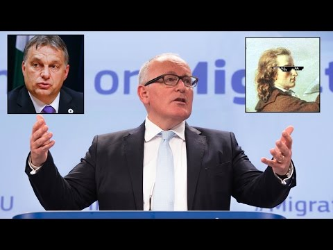 """A DANGEROUS LUNATIC: Frans Timmermans and his obsession with """"diversity"""""""