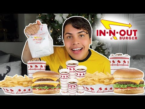 MASSIVE IN-N-OUT MUKBANG