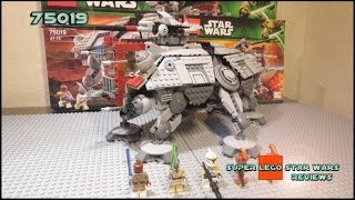 Lego Star Wars 75019 AT-TE Review