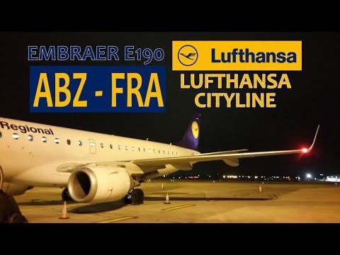 TRIP REPORT | Lufthansa CityLine LH975 (CL975): Aberdeen Dyce Int'l ABZ ✈ Frankfurt Am Main FRA