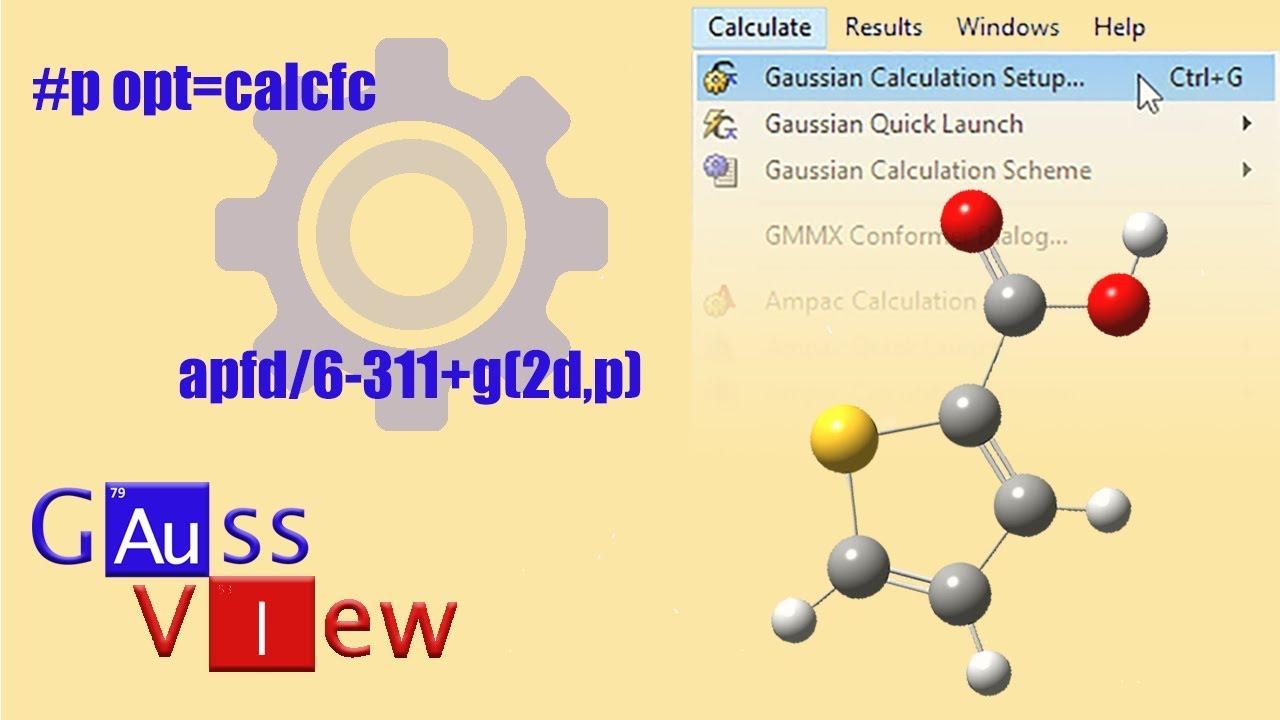 Gaussian Calculation Setup Overview