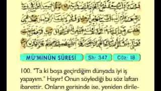 Fatih Çollak 18.cüz (Komple Video Hatim)