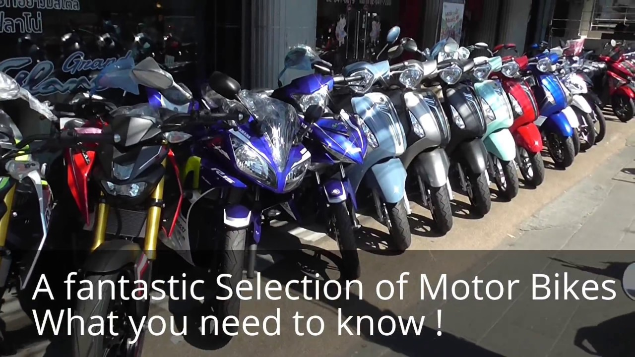 Living in Thailand, Buying A Motorcycle 125 cc to 400cc  Models