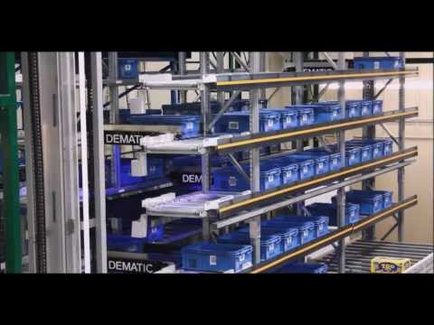 Automated Storage and Retrieval for totes and cases - Dematic Multishuttle® 2