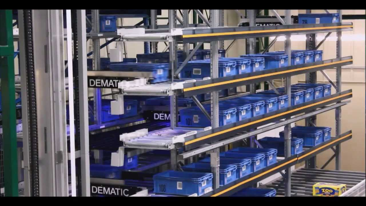 Automated Storage And Retrieval For Totes And Cases